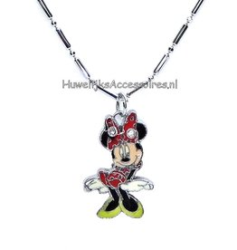 Disney Halsketting met Minnie Mouse pendant
