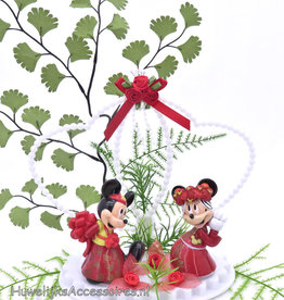 Disney Hong Kong Mickey & Minnie bruidstaart topper