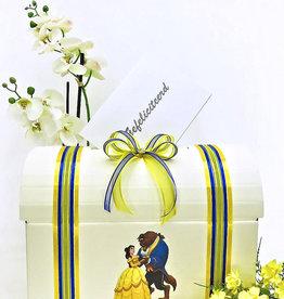 Disney Belle en het Beest bruiloft enveloppendoos
