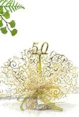 50 jaar gouden jubileum bruiloft bedankje