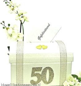 50 jaar Gouden huwelijk enveloppendoos