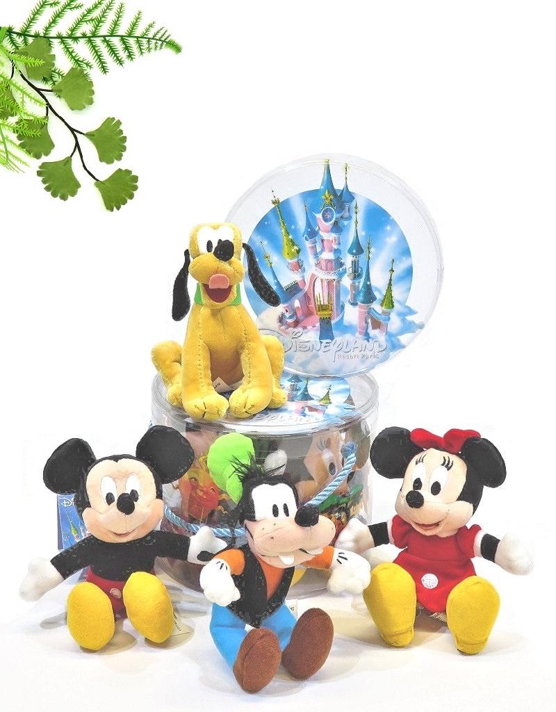 Disney Vier schattige Disney pluche figuurtjes