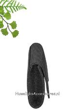 Prachtige stijlvolle glinsterende zwarte bruid tasje