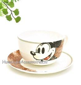 Disney Mickey Mouse Disney jumbo beker met schotel