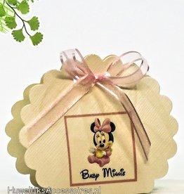 Disney Baby Minnie Mouse geboorte bedankje