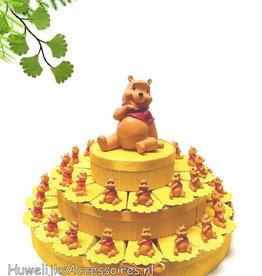 Disney Winnie de Poeh bedankjes taart