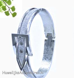 Zilveren mooie dames armband