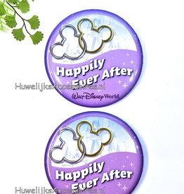 Disney Mickey & Minnie huwelijk buttons