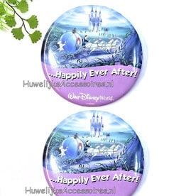 Disney Cinderella huwelijk buttons