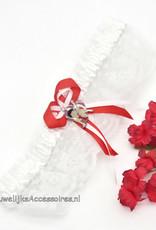Universal Studios Mooi witte bruids kousenband met Betty Boop
