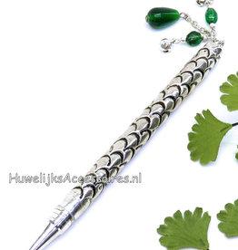 Zilveren receptie pen