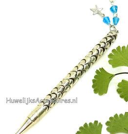 Prachtige zilver receptie pen