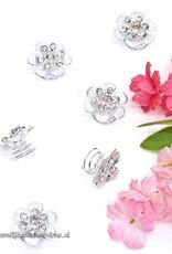 Sprankelende mooie set van 6 strass curlies