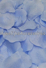 Hoge kwaliteit rozenblaadjes kleur licht blauw