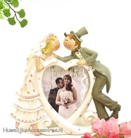 Prachtige komische bruiloft fotolijst
