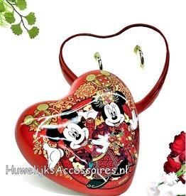 Disney Disney Mickey en Minnie trouwring doosje