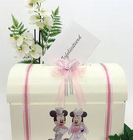 Disney Mickey en Minnie bruiloft enveloppendoos