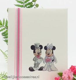 Disney Gastenboek met Mickey en Minnie