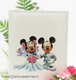 Disney Mickey en Minnie huwelijk gastenboek