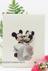 Disney Gastenboek met een afbeelding van Mickey en Minnie Mouse