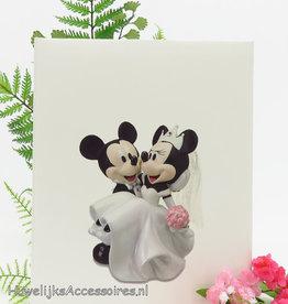 Disney Receptieboek met Mickey en Minnie Mouse