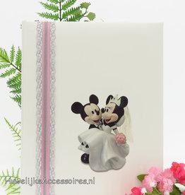Disney Prachtige gastenboek met Mickey en Minnie