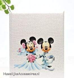 Disney Mickey en Minnie Mouse receptieboek