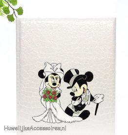Disney Mickey en Minnie bruiloft receptieboek