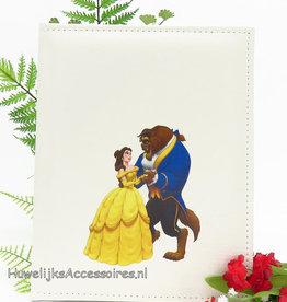 Disney Luxe gastenboek met  Belle en het Beest