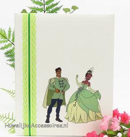 Disney Tiana en Naveen bruiloft gastenboek
