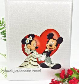 Disney Prachtige Mickey en Minnie huwelijk gastenboek