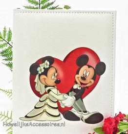 Disney Mickey en Minnie trouw gastenboek