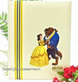 Disney Belle en het Beest huwelijk receptieboek