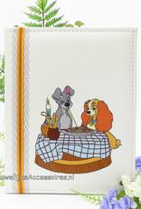 Disney Bruiloft gastenboek met Lady en de Vagebond