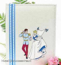 Disney Cinderella en prins Charming gastenboek