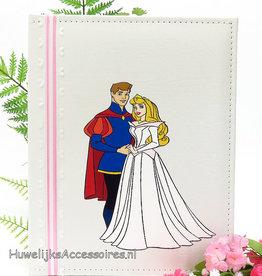 Disney Aurora en Prins Philip gastenboek