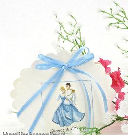 Disney Cinderella trouwbedankje doosje