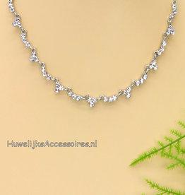 Swarovski kristal halsketting
