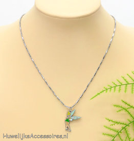 Disney Halsketting met Tinker Bell pendant