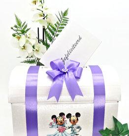 Disney Witte enveloppendoos met Mickey & Minnie