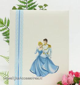 Disney Gastenboek met Assepoester en Prins
