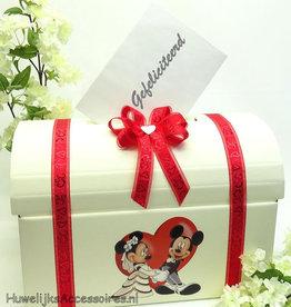 Disney Schitterende Mickey & Minnie enveloppendoos