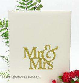Mr & Mrs gastenboek