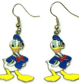 Disney Donald Duck oorbellen