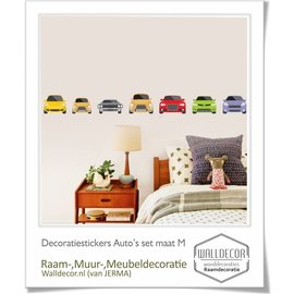 Walldecor Auto decoratie stickers  set maat M