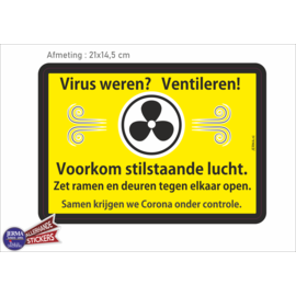 Allerhandestickers.nl Virus weren Ventileren