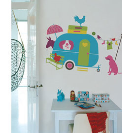 DecoKids.nl Kinderkamer decoratie stickers thema Vakantie