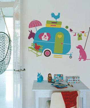 Decoratie Stickers Kinderkamer.Kinderkamer Decoratie Stickers Op Vakantie Jerma Thuis In Decoraties