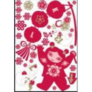 DecoKids.nl kinderkamer decoratie stickers Het thema Lucky Girl