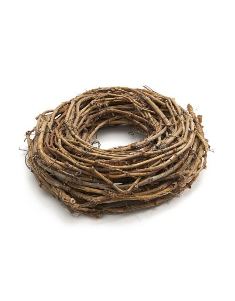 Grape wood wreath